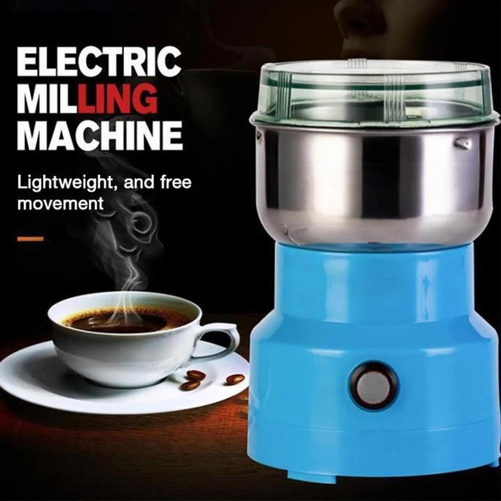 Electric Coffee Bean Grinder Grinder Kitchen Tools Herb Salt Pepper Spice Nut Cereal Mini Powder Grinder