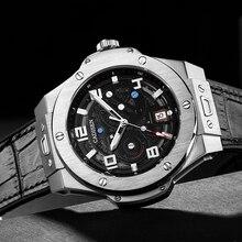 2021 Nieuwe Cadisen Ontwerp Topmerk Mannen Automatische Mechanische Horloge 100M Waterdicht Sapphire Japan NH35 Deluxe Auto Datum klok
