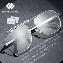คุณภาพสูงPrescriptionกรอบแว่นตาสำหรับชายใสกรอบแว่นตาสายตาสั้นแว่นตาPILOT 2019