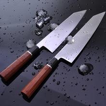 Chef Kitchen Knife Japanese HAP40 Steel Fish Filleting Professional Kiritsuke Sashimi Sushi Gyuto Knives with Octagon Handle 30G