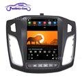 Для Ford Focus 3 Mk 3 2011- 2019 сенсорный экран в стиле Tesla android Автомагнитола мультимедийный видеоплеер навигация GPS