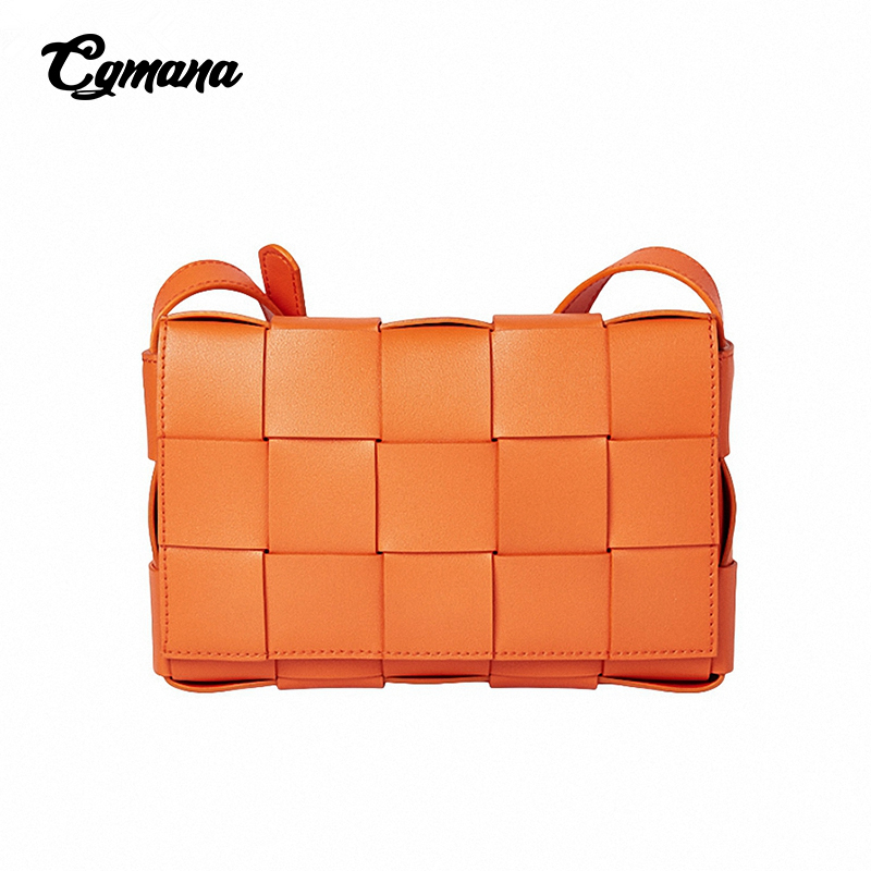 Women Genuine Leather Bag 2019 Small Box Female Brand Crossbady Fashion Daily Shopping Purse