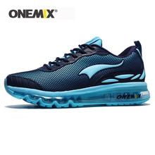 ONEMIX damskie oddychające adidasy sportowe Mesh Chaussure Running Homme męskie buty do biegania wygodne męskie buty rozmiar sprzedaży US 3 5-12 tanie tanio Syntetyczny RUBBER Lace-up Pasuje prawda na wymiar weź swój normalny rozmiar 1120 Dla dorosłych Wysokość zwiększenie