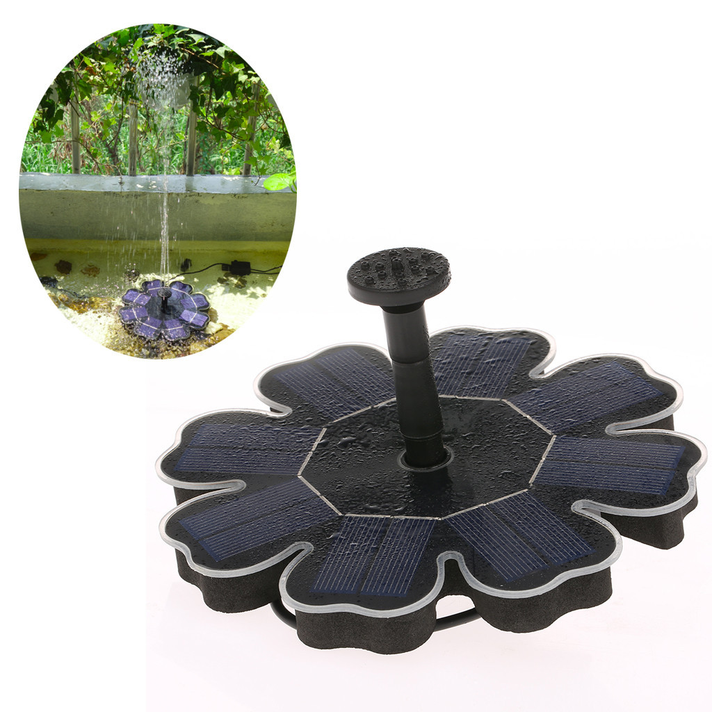 Solar Powered Bird Bath Water Solar Panel Kit Water Water Pump