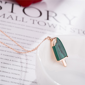 CS2081  Classic circular pendant necklace with fine chain fashion jewelry