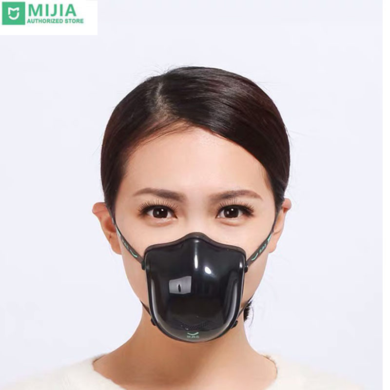 Xiaomi Mijia Youpin Q5Pro Electric Anti-haze Sterilizing Mask Provides Active Air Supply Electric Mask For Autumn Winter Fog