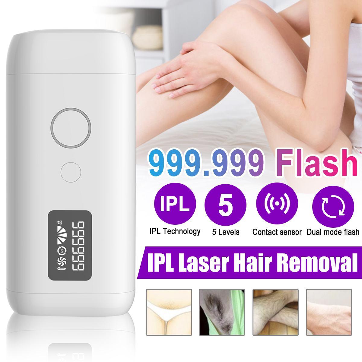 Depilação a Laser os Níveis de 5 Display Flash Depilador Permanente 999999 Pulsos Ipl Laser Biquíni Depiladora Foto 36w Lcd