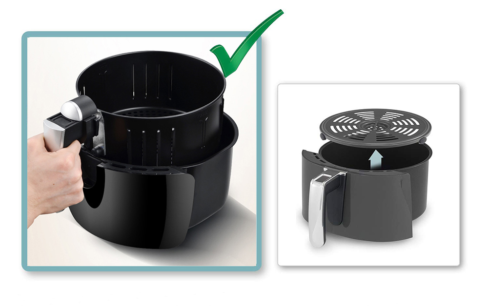 removeable air fryer