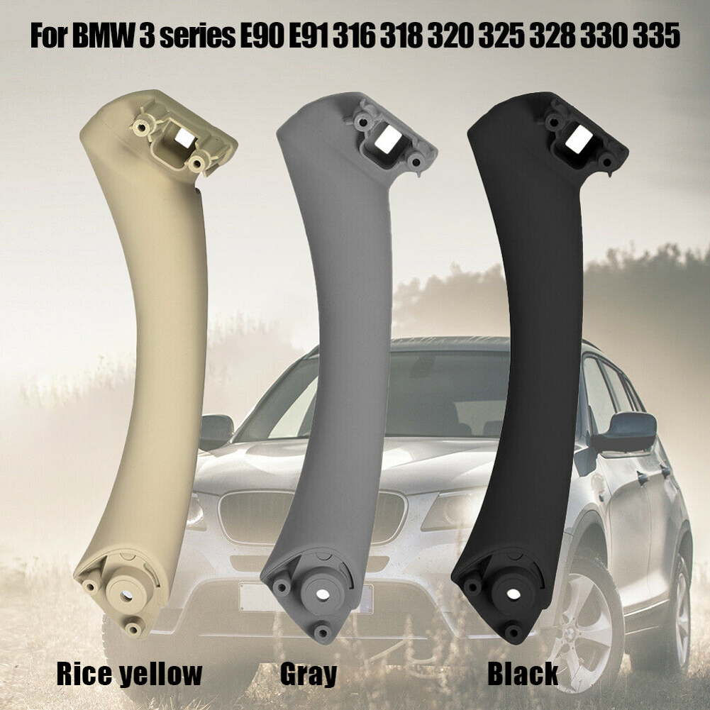 Car Inner Handle Interior Door Panel Pull Trim Cover left Right For BMW 3 series E90 E91 316 318 320 325 328 330 I7T8