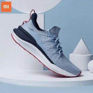 Image 4 - Original Xiaomi Mi Mijia Sports Shoes Sneaker 4 Outdoor Men Running Walking Lightweight Comfortable Breathable 4D Fly Wove Shoes