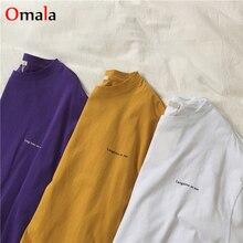 women short sleeve Simple printed long t shirt female white top Harajuku new letter T-shirt summer o
