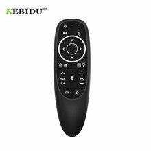 KEBIDU G10S Pro Retroilluminato Mouse Dellaria Telecomando Vocale 2.4G Ricevitore USB Gyro sensori Wireless Smart Remote per Android TV BOX