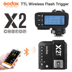 Flash Trigger-Transmitter Nikon Fuji Olympus X2T-C Sony Godox Canon Wireless TTL