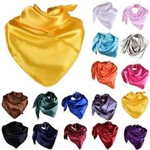 Colors Tudung Bawal Satin Hijab Square Plain Satin Bawal 90*90cm(35inch*35inch)