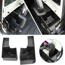 Bandeja lateral interior da carga dos organizadores do tronco da caixa de armazenamento para jeep wrangler jl 2018-2020