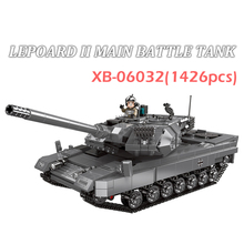 XINGBAO 06032 Military Series 1426pcs The LEPOARD II Main Battle Tanks Building Blocks Bricks Classic Tank Model Building Kits trumpeter 1 35 czech army t 72m4cz main battle tanks model kit
