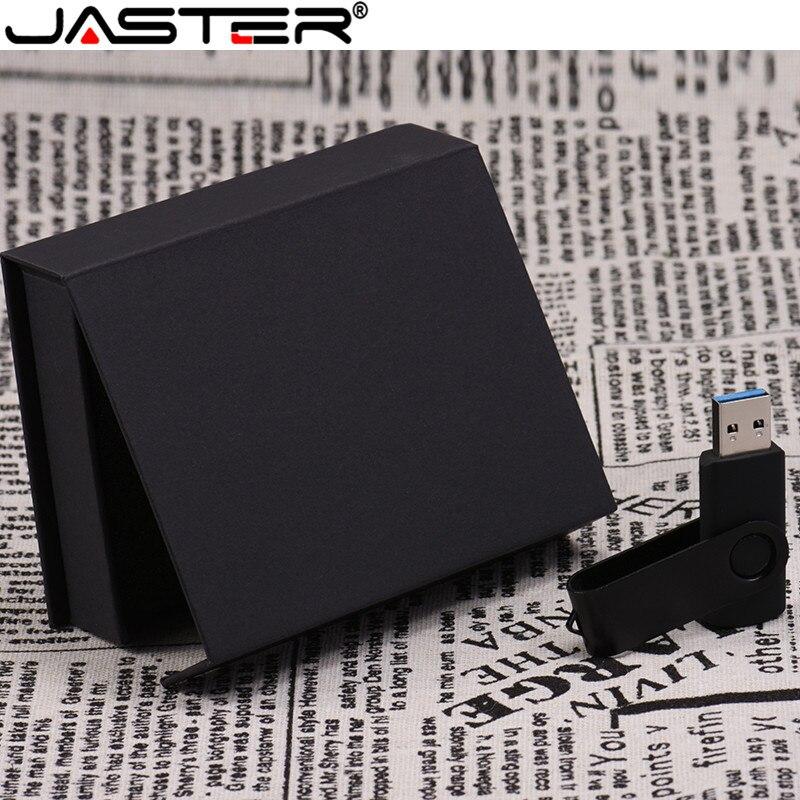 JASTER ODM OEM Пользовательский логотип черный/белый Поворот USB 2,0 4 ГБ/128 ГБ версия флэш накопитель карта памяти (хорошие предметы для бизнеса) USB флэш-накопители      АлиЭкспресс