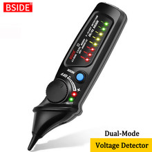 BSIDE-Indicador de detección de voltaje sin contacto AVD06, lápiz de prueba inteligente profesional en vivo/fase, cable, punto de interrupción, probador de continuidad NCV