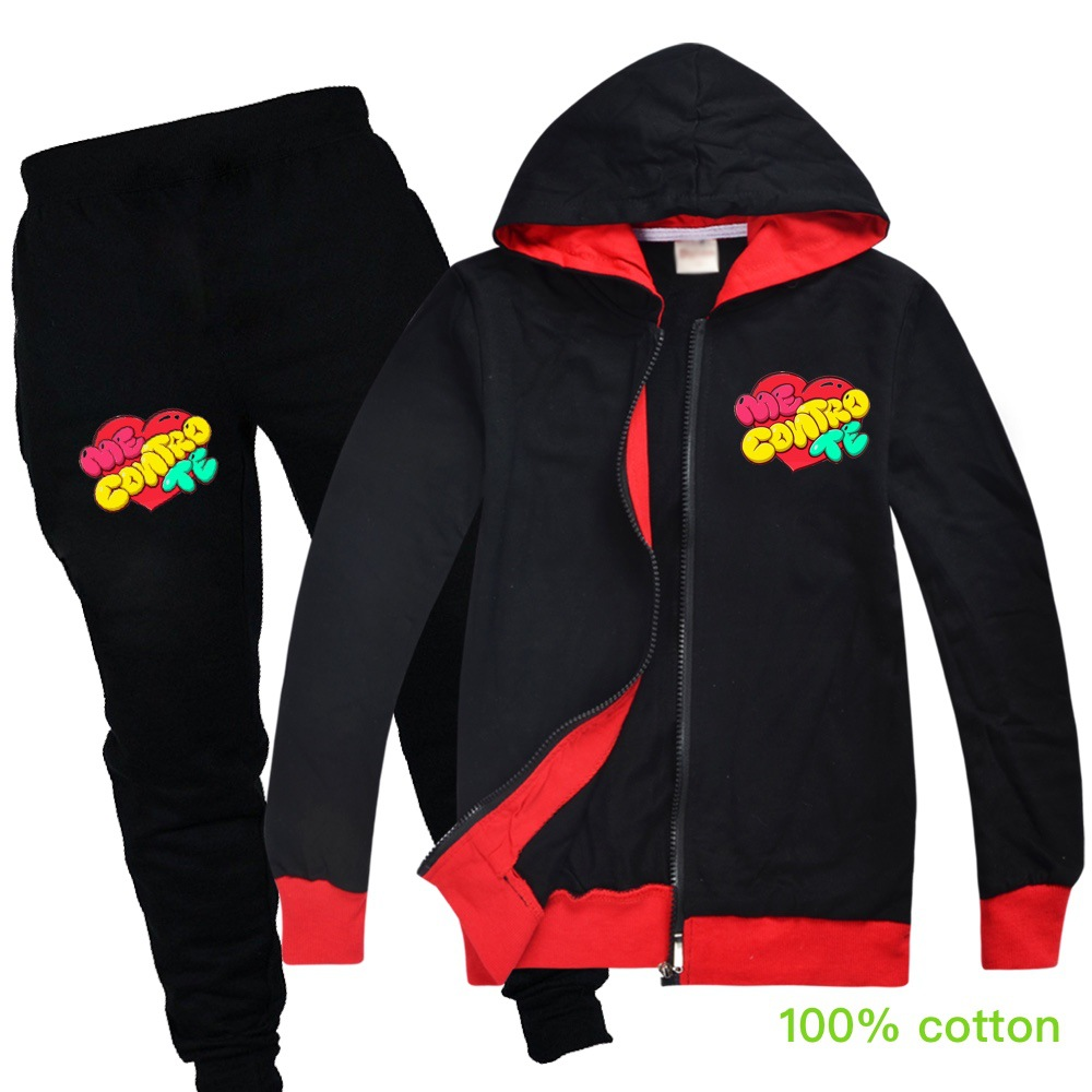 Baby Boys Spring Autumn Me Contro Te Sports Suit 2 Pieces Set Tracksuits Kids Clothing Sets teens girls Clothes jacket Coat Pant 5