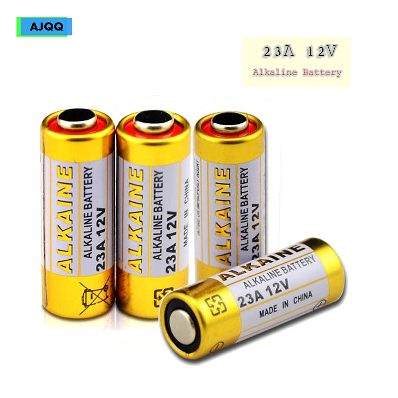 50 PCs AJQQ small <font><b>battery</b></font> 23A <font><b>12V</b></font> <font><b>Battery</b></font> 21/23 <font><b>A23</b></font> E23A MN21 V23GA L1028 lrv08 <font><b>battery</b></font> 23A 12 V Dry alkaline <font><b>battery</b></font> image