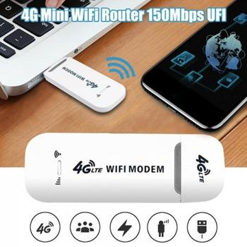 Portable 4G LTE Adapter Wireless USB Modem Network Card Universal 100Mbps WiFi Modem USB Wireless Router For Home Office