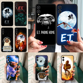 E.T. The Extra-Terrestrial Phone case For Huawei Honor 6A 7A 7C 8 8A 8X 9 9X 10 10i 20 Lite Pro Play black funda fashion back image