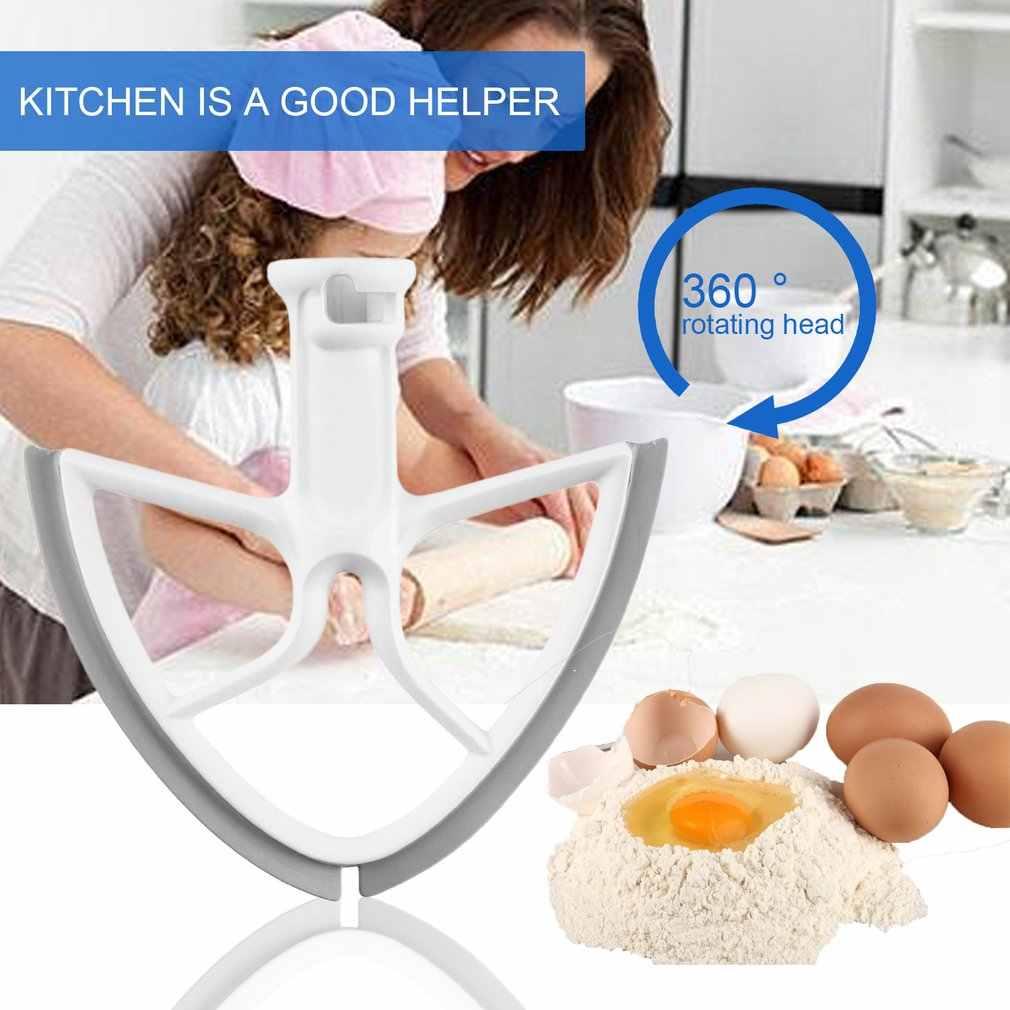 Lâmina de batedor de borracha para 5 quart kitchen aid bowl lift mixer ferramenta de cozimento misturador da cozinha acessórios com forma quadrada dropshipping