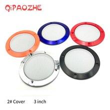 3 Inch Kleurrijke Vervanging Ronde Luidspreker Beschermende Mesh Net Cover Grille Cirkel Metal Audio Speaker Accessoires