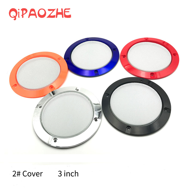 3 inch Colorful Replacement Round Speaker Protective Mesh Net Cover Grille Circle Metal Audio Speaker Accessories