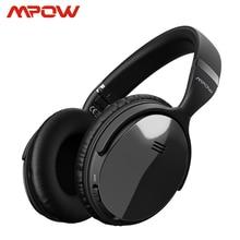 Origial mpow h5 2a geração, fone de ouvido sem fio bluetooth com fio/sem fio com microfone, bolsa de transporte para pc, iphone, huawei xiaomi xiaomi compatível com xiaomi,