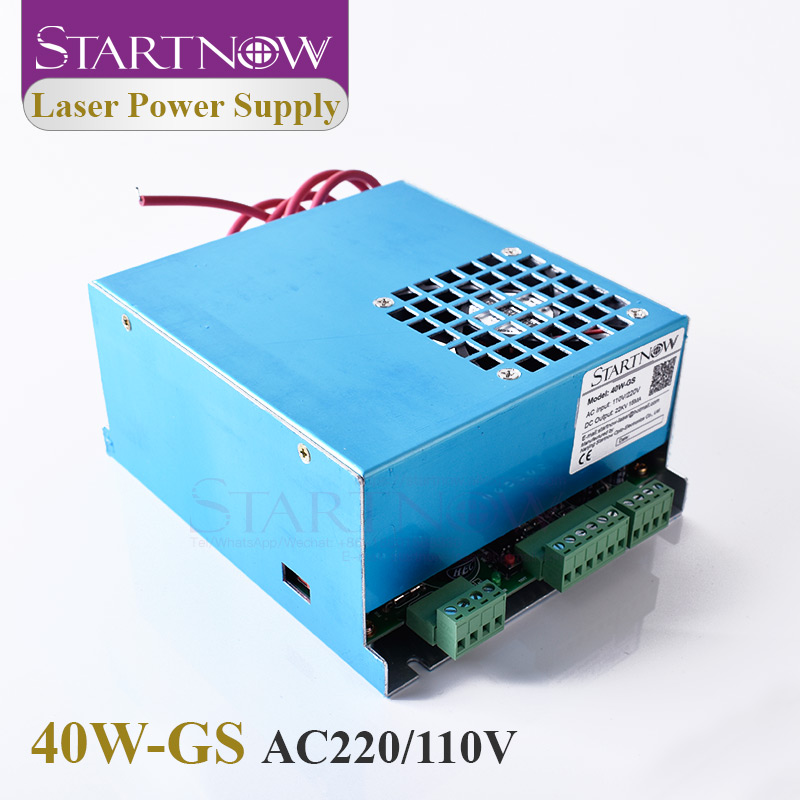 Startnow 40W-GS Laser Power Supply 40W PUS MYJG-40 25W 30W Watt For DIY 4060 CO2 Laser Tube Carving Cutter Machine Spare Parts