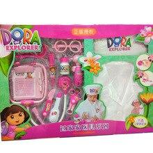 Дора игровой дом доктор Одежда детская модель доктор набор эхометр шприц таблетки игрушка QF26228