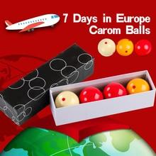 AXD Carom Cue Balls Pool Table Training Spot Cue Ball Diameter 61.5mm Smooth Shiny Phenolic Resin Material Billiard Accessories