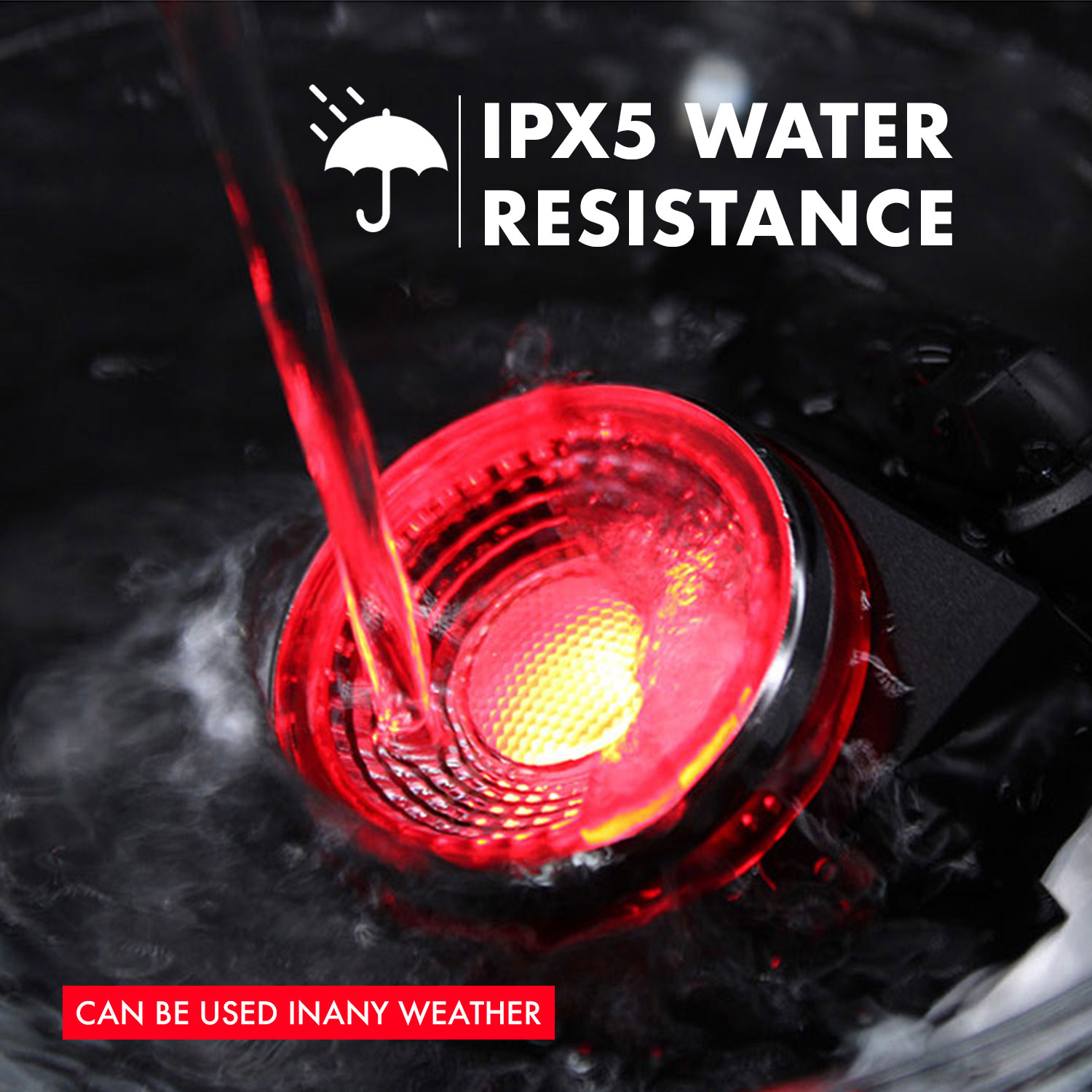 Top SaleCycling-Lamp Tail-Light-Ipx5 Bike Bicycle Security-Alarm Mini Waterproof LED with USB