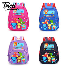 Toddler Backpack Lovely Cartoon Animal Pattern Schoolbag for Boys Girls High Quality Kindergarten Preschool Kids Shoulder Bag(China)