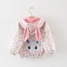 Весна Осенняя одежда для маленьких девочек с рисунками из мультфильмов для девочек, куртка для мальчиков с капюшоном, ветровка, верхняя одежда для маленьких девочек, пальто для мальчиков одежда для малышей