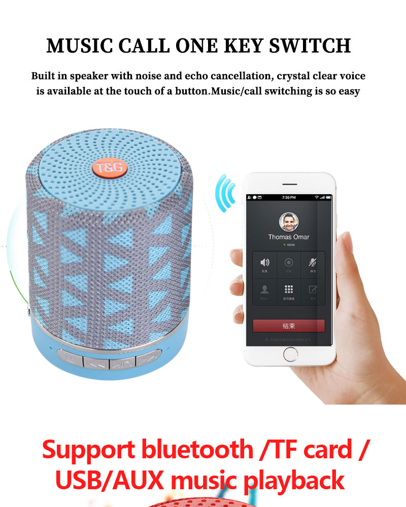 Купить домашний мини цилиндрический bluetooth аудио поддержка sd карты