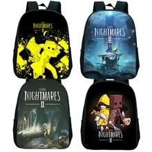 School-Bag Rucksack 2-Backpack Toddler Little-Nightmares Kids Children's Kindergarten