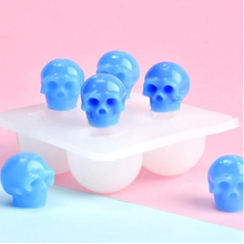 Silicone Mold Jewelry-Making-Tool Skull Halloween-Theme Resin Epoxy Cheap Hot-Sales High-Quality