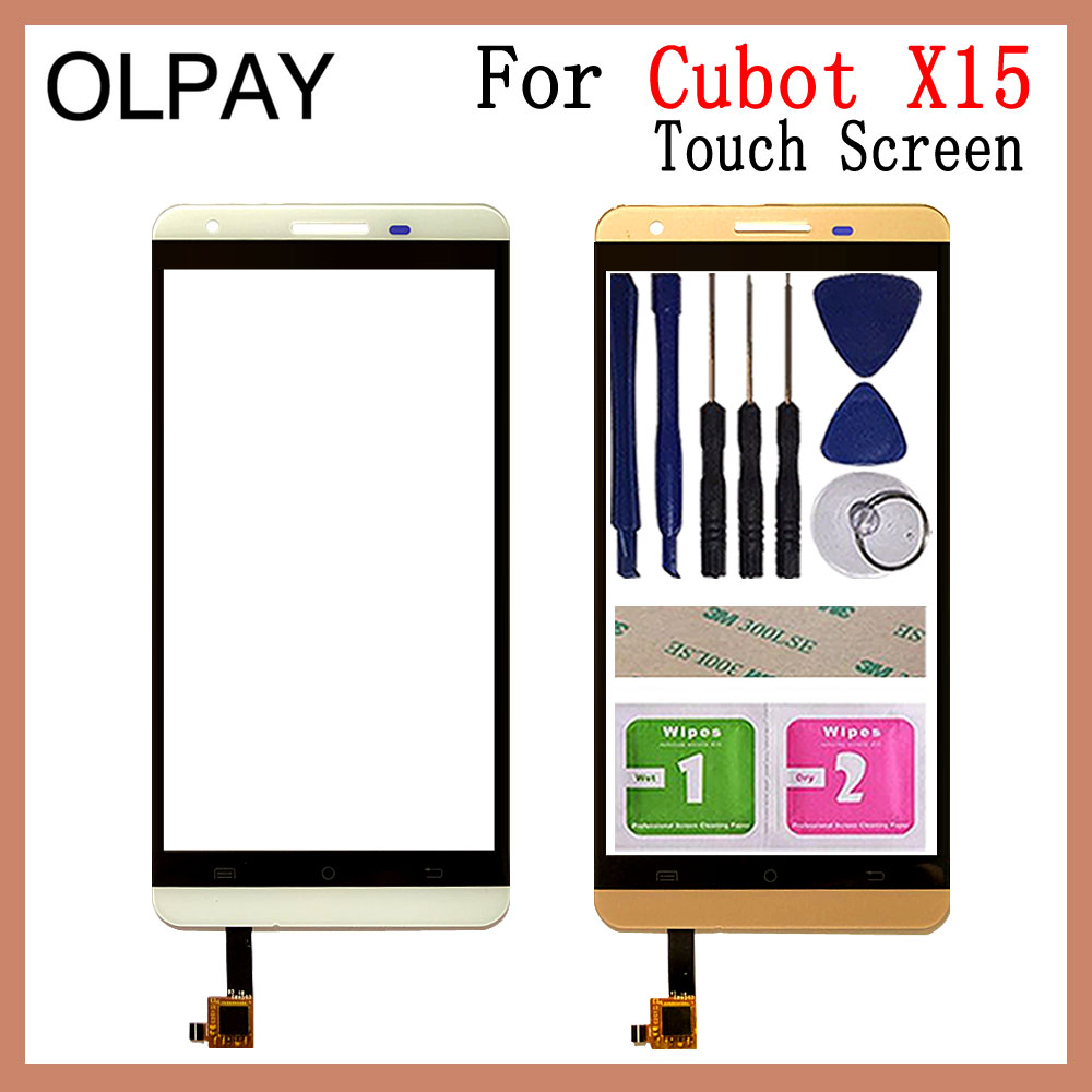 5.5 Inch Mobile Phone Touchscreen For Cubot X15 Touch Screen Digitizer Panel Front Glass Lens Sensor Repair