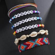 Браслеты с буквами vsco браслеты конфетными бусинами ручной