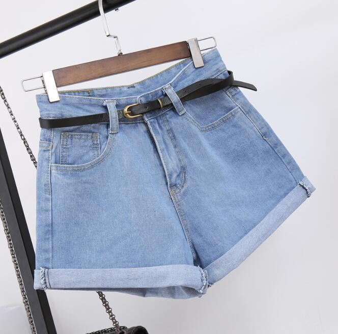 High Taille Denim Shorts Size XL Women's Short Jeans For Women  Summer Ladies Hot Shorts Solid Shrink Shorts