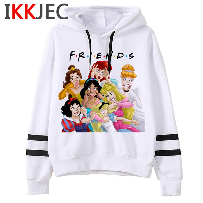 New Friends Tv Shows Harajuku Funny Cartoon Hoodies Women/men Ullzang Best Friends 90s Sweatshirt Warm Graphic Hoody Female/male