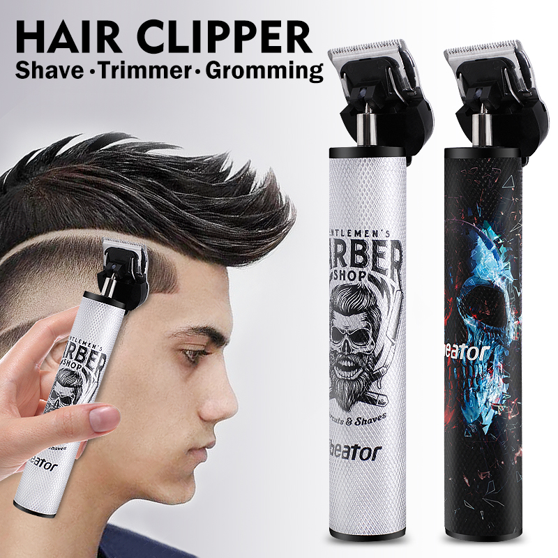 Buddha Barber Trimming Shaving Hair Beard Trimmer Rechargeable Hair Clipper Barbershop Cordless 0mm t-blade Shaver Outliner Men