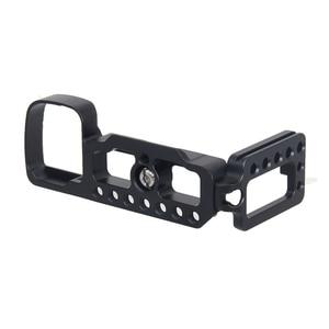 Image 3 - CNC アルミ垂直シュート QR L プレートブラケットソニー A6400 デジタル一眼レフカメラサポートコールド靴アクセサリー