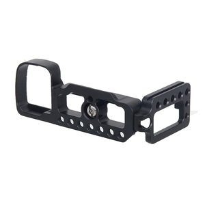 Image 3 - Soporte de placa QR L de aluminio CNC para Sony A6400, soporte de la cámara Dslr con accesorio de zapata fría