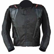 Новые мотокросса куртки водонепроницаемый Оксфорд ткань 600D AL-010 мотоциклетные гоночные куртки велосипедные куртки с горбом и протектор