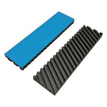 Graphene Pure Copper Heatsink Heat Sink M.2 NGFF 2280 NVME SSD Thermal Pad Hard Disk Cooler(China)