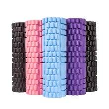 45/35cm Yoga sütun spor salonu Fitness köpük rulo Pilates Yoga kas masajı rulo egzersiz geri yumuşak Yoga bloğu damla nakliye