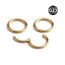 JOONDSHE Hinged Septum Clicker Segment Nose Ring Lip Ear Cartilage Ear Helix Body Piercing Jewelry Surgical Steel Ring Hoop(China)